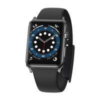 Baseus Slip-Thru Watch Band For AP Watch Series 3/4/5/6/SE 38mm/40mm Black (LBWSE-01)
