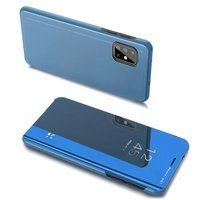 Clear View Case cover for Samsung Galaxy A20s blue