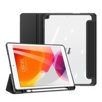 """Dux Ducis Toby armored tough Smart Cover for iPad 10.2"""" 2021 / iPad 10.2'' 2020 / iPad 10.2'' 2019 with a holder for Apple Pencil black"""