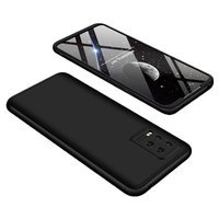 GKK 360 Protection Case Front and Back Case Full Body Cover Xiaomi Mi 10 Lite black