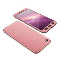GKK 360 Protection Case Front and Back Case Full Body Cover Xiaomi Redmi Note 5A pink
