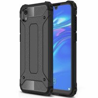 Hybrid Armor Case Tough Rugged Cover for Huawei Y5 2019 / Honor 8S black