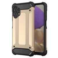 Hybrid Armor Case Tough Rugged Cover for Samsung Galaxy A32 4G golden