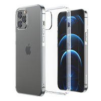 Joyroom New T Case for iPhone 13 Pro silicone cover transparent (JR-BP943 transparent)