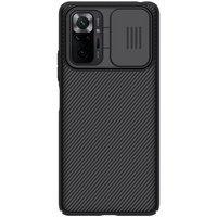Nillkin CamShield Case Slim Cover with camera protection shield for Xiaomi Redmi Note 10 Pro black