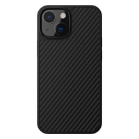 Nillkin Synthetic Fiber Carbon case cover for iPhone 13 black