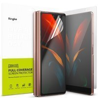 Ringke Invisible Defender set of protective films for two displays for Samsung Galaxy Z Fold 2 5G (I8D015)