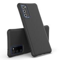 Soft Color Case flexible gel case for Samsung Galaxy M51 black
