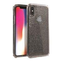 UNIQ case Clarion Tinsel iPhone Xs Max black / vapor smoke