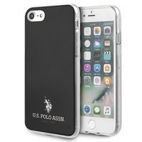 US Polo USHCI8TPUBK iPhone 7/8/SE 2020 czarny/black Shiny