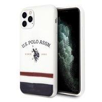 US Polo USHCN65PCSTRB iPhone 11 Pro Max biały/white Tricolor Pattern Collection