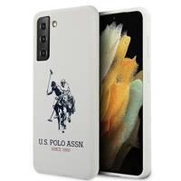 US Polo USHCS21SSLHRWH S21 G991 biały/white Silicone Logo