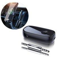 Ugreen Wireless Bluetooth audio adapter AUX aptX mini jack reciver black (70304)
