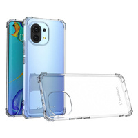 Wozinsky Anti Shock durable case with Military Grade Protection for Xiaomi Mi 11 transparent