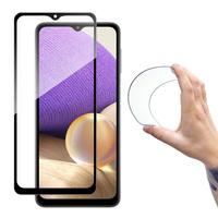 Wozinsky Full Cover Flexi Nano Glass Hybrid Screen Protector with frame for Samsung Galaxy A32 5G transparent