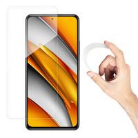 Wozinsky Nano Flexi Glass Hybrid Screen Protector Tempered Glass for Xiaomi Redmi K40 Pro+ / K40 Pro / K40 / Poco F3 / Mi 11i