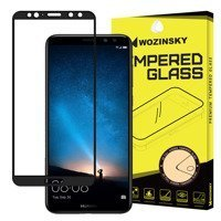 Wozinsky Tempered Glass Full Glue Super Tough Screen Protector Full Coveraged with Frame Case Friendly for Huawei Mate 10 Lite black