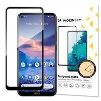 Wozinsky Tempered Glass Full Glue Super Tough Screen Protector Full Coveraged with Frame Case Friendly for Nokia 5.4 black