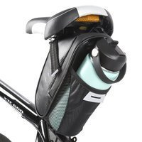 Wozinsky bicycle under the saddle bottle bag black (WBB20BK)