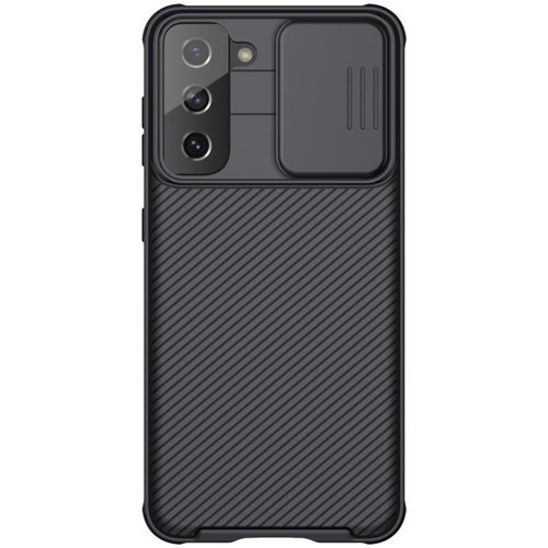 Nillkin CamShield Pro Case Durable Cover with camera protection shield for Samsung Galaxy S21 5G black
