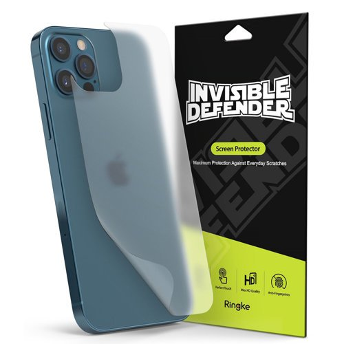 Ringke ID Back Matte Film 2x back housing protector film for iPhone 12 Pro Max (IDAP0006)