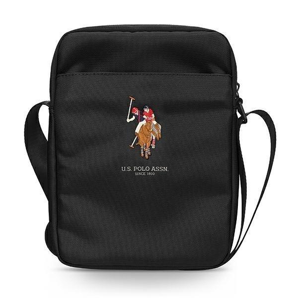 "US Polo Bag USTB10PUGFLBK 10 ""black / black"