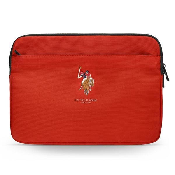 """US Polo Sleeve USCS13PUGFLRE 13 """"red / red"""