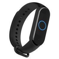 [PO ZWROCIE] Zamienna silikonowa opaska pasek bransoleta bransoletka do Xiaomi Mi Band 5 czarny