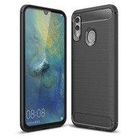 Carbon Case elastyczne etui pokrowiec Huawei P Smart Plus 2019 / Honor 10 Lite czarny