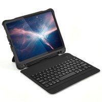 Choetech Keyboard Case etui pokrowiec do iPad Pro 11'' 2020 / 2018 bezprzewodowa klawiatura Bluetooth czarny (BH-011)