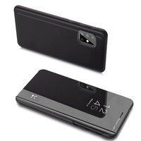 Clear View Case futerał etui z klapką Samsung Galaxy A20s czarny
