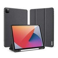 DUX DUCIS Domo składany pokrowiec etui na tablet z funkcją Smart Sleep podstawka iPad Pro 12.9'' 2021 czarny