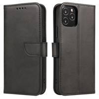 Magnet Case elegancki futerał etui pokrowiec z klapką i funkcją podstawki OnePlus 8 czarny