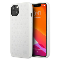 """Mercedes MEHCP13MESPWH iPhone 13 6,1"""" biały/white hardcase Silver Stars Pattern"""