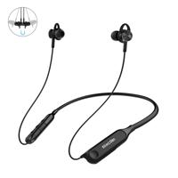 Mixcder wodoodporne IPX5 sportowe bezprzewodowe słuchawki Bluetooth 5.0 ANC (aktywna redukcja szumów) czarny (RX)
