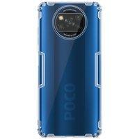 Nillkin Nature żelowe etui pokrowiec ultra slim Xiaomi Poco X3 NFC / Poco X3 Pro przezroczysty