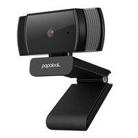 Papalook kamera internetowa Full HD 1080p z mikrofonem na laptopa monitor komputer czarny (AF925)