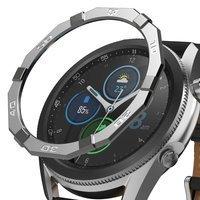 Ringke Bezel Styling etui ramka koperta pierścień Samsung Galaxy Watch 3 45 mm stalowy (stal nierdzewna) (GW3-45-47)