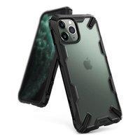 Ringke Fusion X Matte etui pancerny pokrowiec z ramką iPhone 11 Pro Max czarny (XMAP0003)