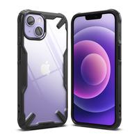 Ringke Fusion X etui pancerny pokrowiec z ramką iPhone 13 czarny (FX545E55)