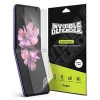Ringke Invisible Defender 2x folia ochronna na cały ekran i boki telefonu TPU Samsung Galaxy Z Flip - case friendly (IDSG0009)