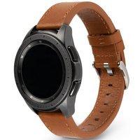 Ringke Leather One Classic skórzana bransoleta opaska pasek do zegarka smartwatch Samsung Galaxy Watch 3 41 mm brązowy (COM-B-20-21)