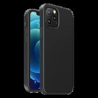 Ugreen Protective Silicone Case gumowe elastyczne silikonowe etui pokrowiec iPhone 12 Pro Max czarny
