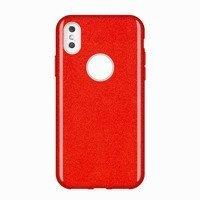 Wozinsky Glitter Case błyszczące etui pokrowiec z brokatem iPhone XS Max czerwony