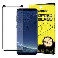 Wozinsky super wytrzymałe szkło hartowane 5D Full Glue na cały ekran z ramką Samsung Galaxy S9 G960 czarny