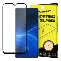 Wozinsky super wytrzymałe szkło hartowane Full Glue na cały ekran z ramką Case Friendly Realme X2 Pro czarny