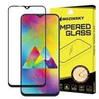 Wozinsky super wytrzymałe szkło hartowane Full Glue na cały ekran z ramką Case Friendly Samsung Galaxy M10 czarny