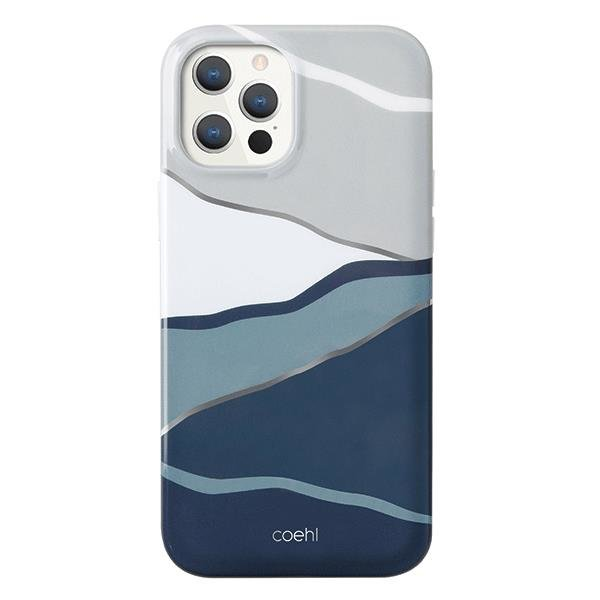 UNIQ Coehl Ciel etui na iPhone 12 Pro / iPhone 12 niebieski