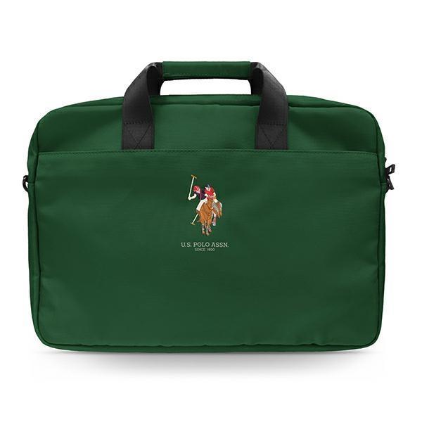 """US Polo Torba USCB15PUGFLGN 15"""" zielona/green"""